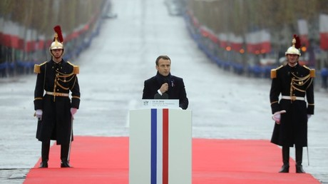 'Free world leader' or 'globalist puppet?' Internet split over Macron's anti-nationalist comment