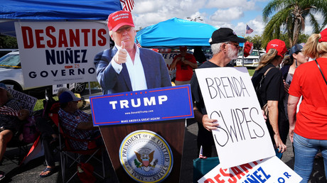 Trump claims 'forged ballots' have 'infected' Florida recounts of governor & Senate votes