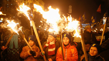 'Separatists are not people': Ukrainian kids taught to shoot & kill at far-right 'summer camp'