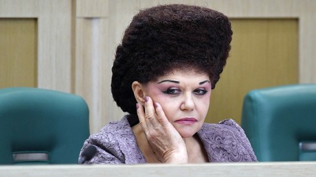 Charismatic Russian senator famous for her extravagant hairdo will lose seat – reports