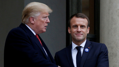 Being America's ally does not mean becoming a vassal state — Macron