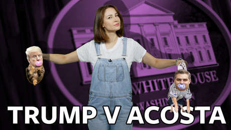 #ICYMI: Donald Trump vs CNN's Jim Acosta and the politics of distraction