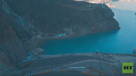 Tajikistan launches first phase of hydro power station dam, set to become world's largest (VIDEO)