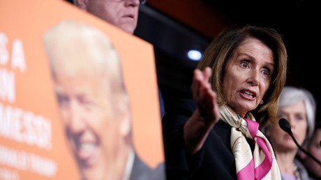 'You give him all day!' Pelosi is irritated that press 'loves' MSM-bashing Trump