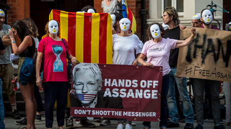 'Last diplomat he knew': Ecuador ousts London envoy, fuels rumors of Assange's imminent eviction
