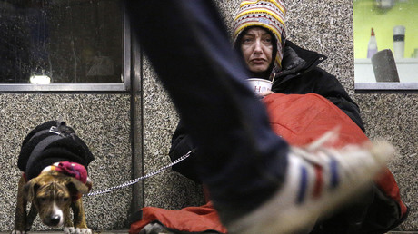 Homelessness at record heights in NYC, report says