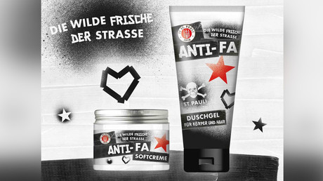 When hyphens matter: Hamburg football club's 'Anti-Fa' merch raises ire from 'Fa' shower gel maker