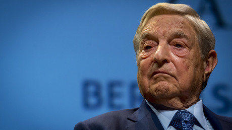 George Soros fined over naked short selling by Hong Kong