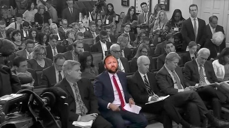Alex Jones may get a White House seat next to CNN's Acosta (or not)