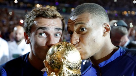Kylian Mbappe wins Trophee Kopa for best young player at Ballon d'Or ceremony