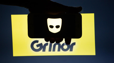 Grindr logo. © Global Look Press/Alexander Pohl