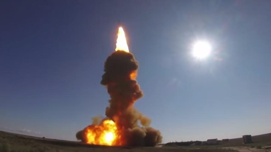 WATCH Russia firing off upgraded nuke interceptor