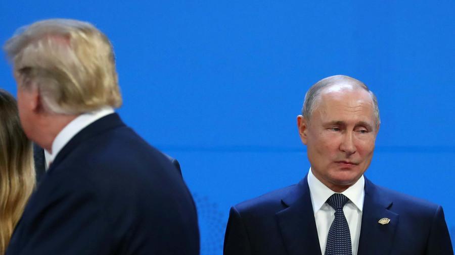 Putin and Trump talked briefly at G20 summit