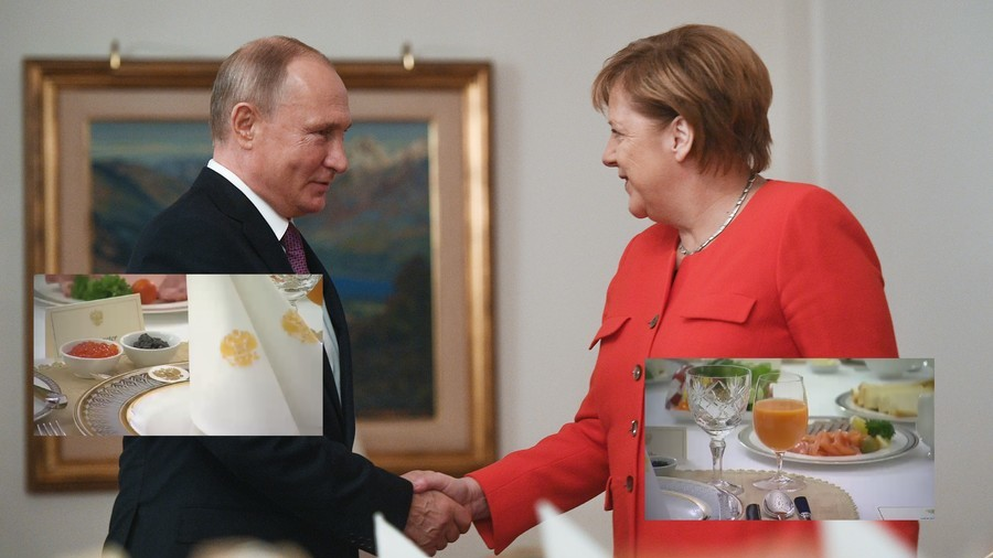 Putin explains Russian stance on Kerch Strait crisis to Merkel over caviar breakfast at G20