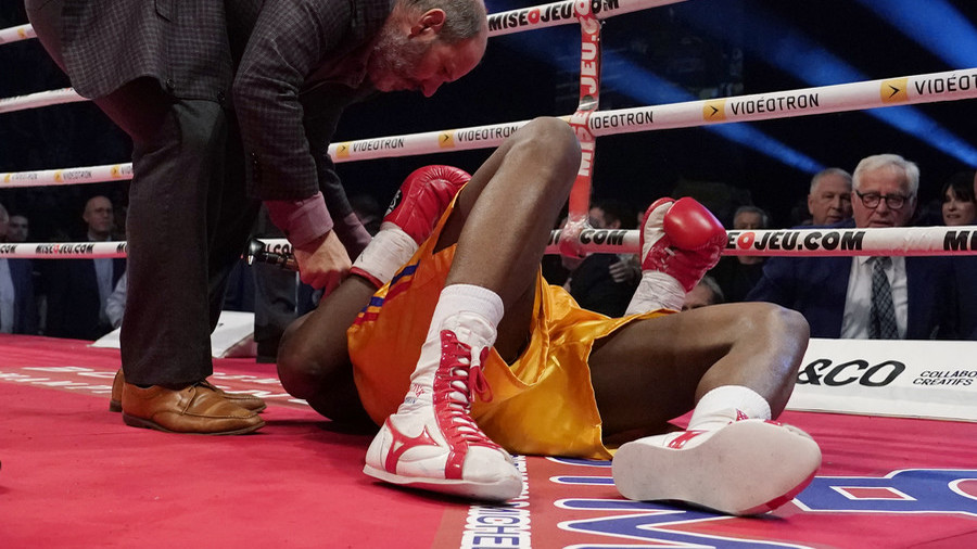 Canadian boxer Adonis Stevenson in critical condition after knockout