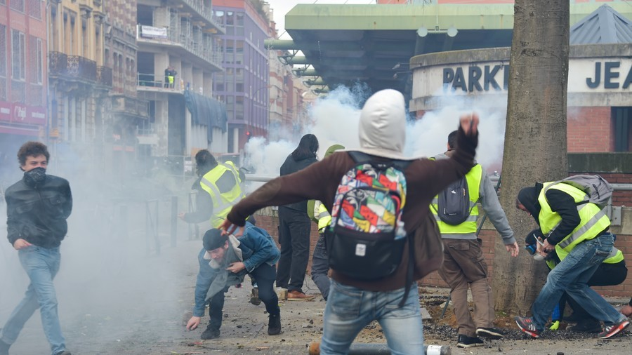48 police officers injured at Yellow Vest protests in Toulouse (PHOTOS, VIDEO)