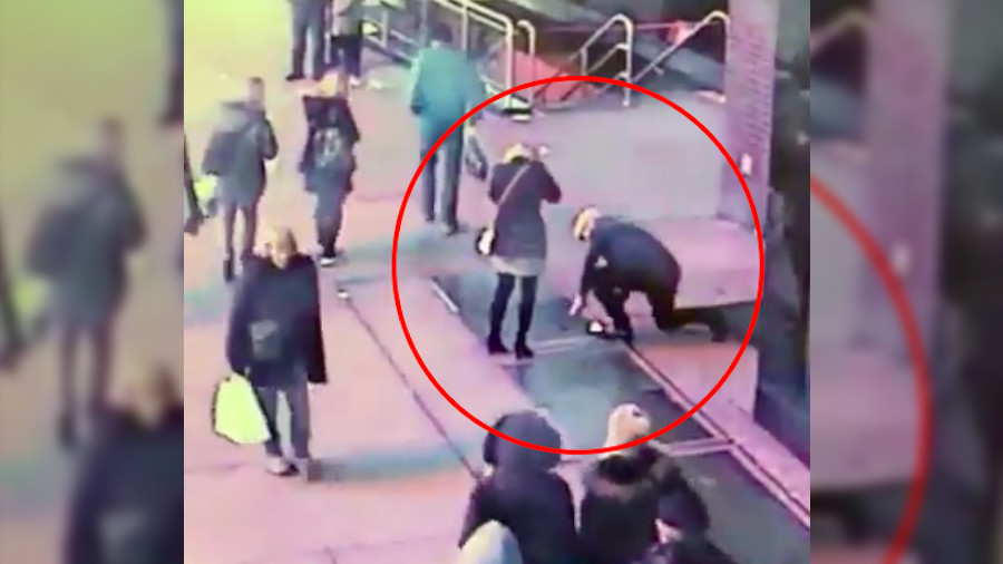 Fiancé fail: NYPD searches for couple who lost diamond ring during proposal (PHOTO, VIDEO)