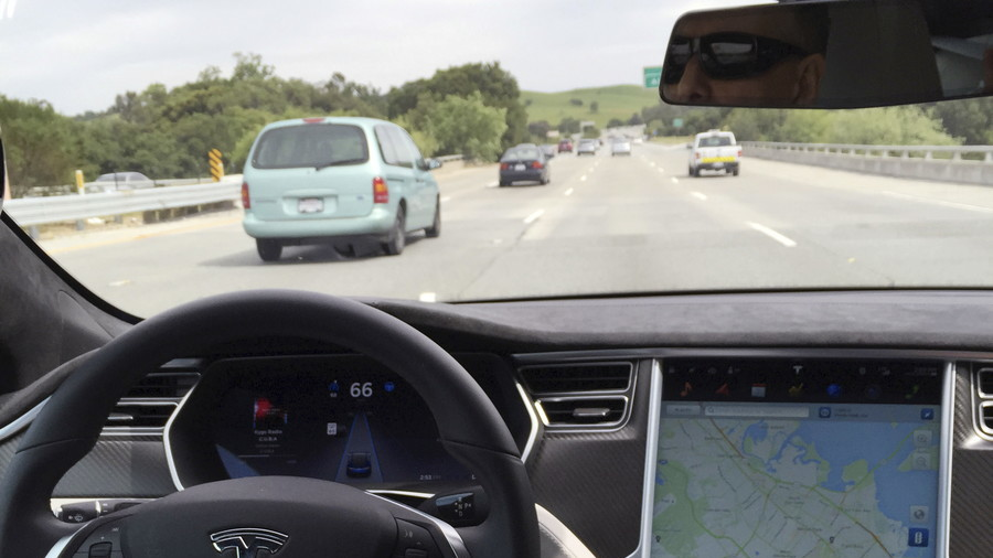 Tesla autopilot blamed as driver found asleep at 70mph