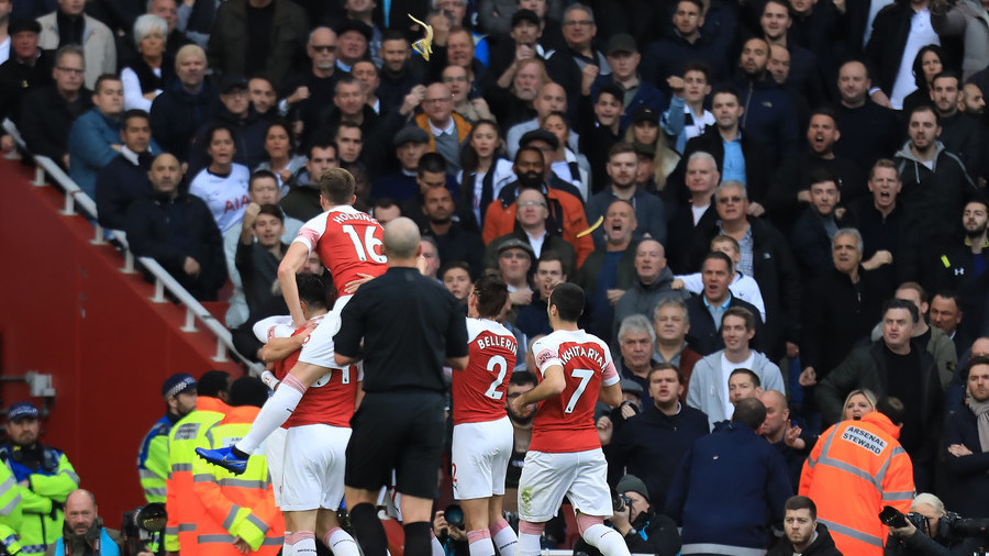 'Racist' Spurs fan who threw banana skin at Arsenal player handed 'indefinite ban' from games