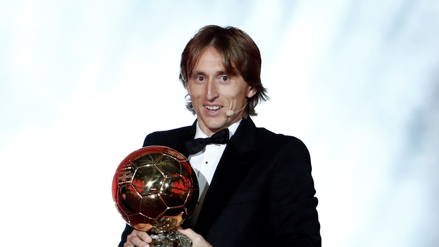 Luka Modric wins Ballon d'Or, ending 10-year Ronaldo & Messi reign (PHOTOS)