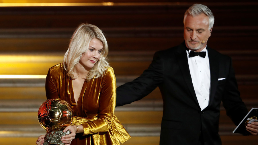 Norway's Hegerberg wins inaugural Ballon d'Or award