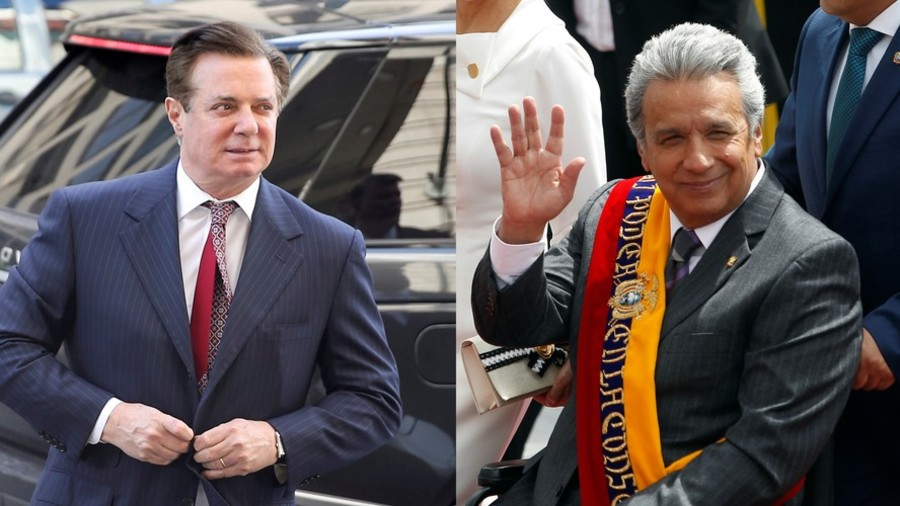 Manafort tried to broker deal over Assange's handover to US