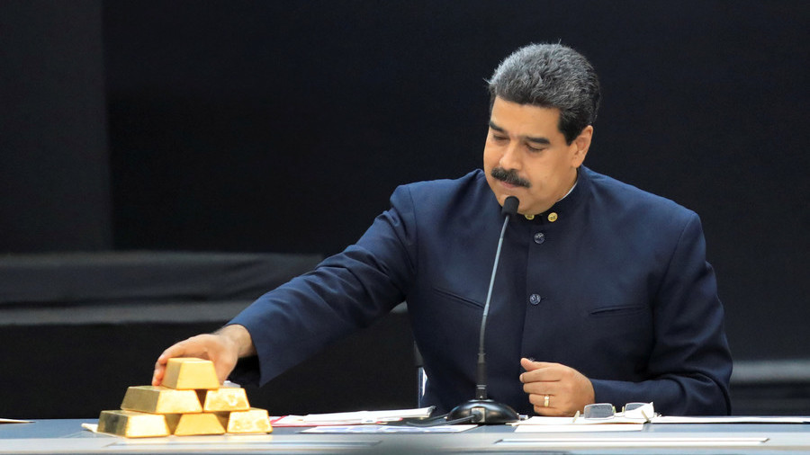 Maduro defends Venezuela's right to sell gold amid US sanctions push