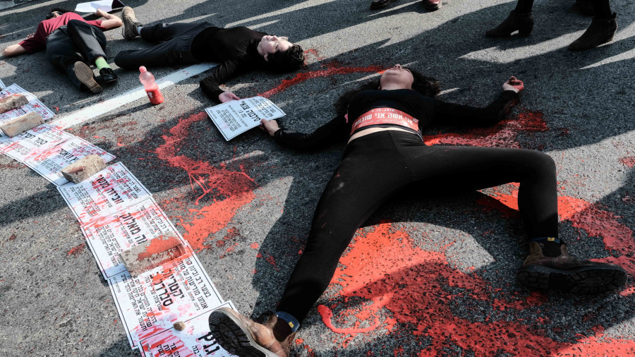 'Stop killing women': Israeli cities grind to a halt as thousands demand end to domestic violence