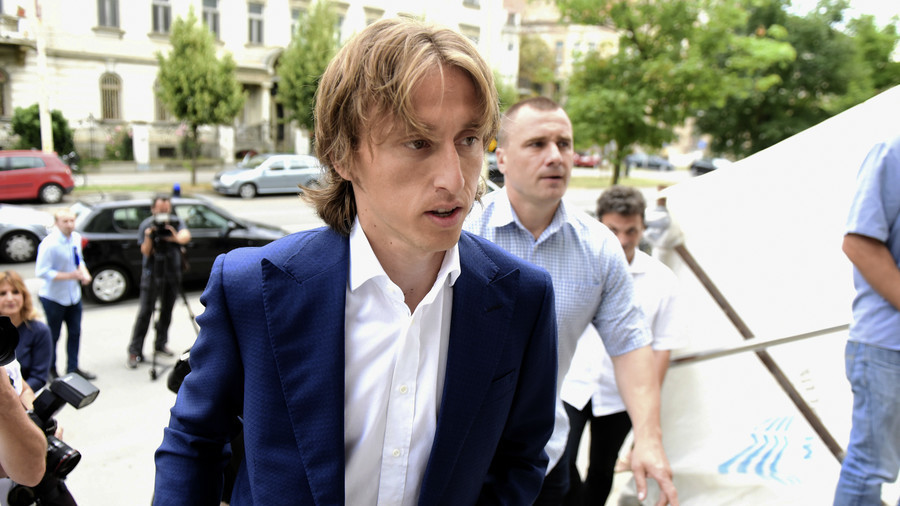 Ballon d'Or winner Modric cleared of perjury charges by Croatian court