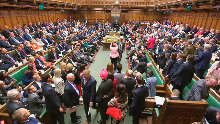 UK Tory govt first in history to be found in contempt of parliament (VIDEO)