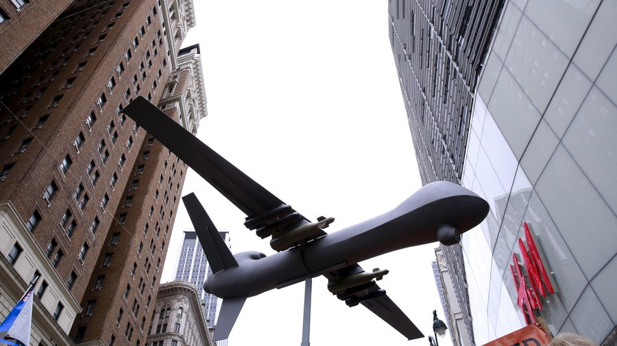 Drones over Manhattan: NYPD takes flight, but says it's not for spying