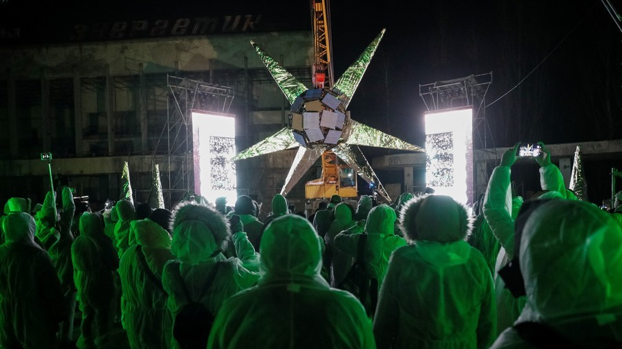 Radioactive rave: Ukrainian artist mutates Chernobyl into trendy dance venue