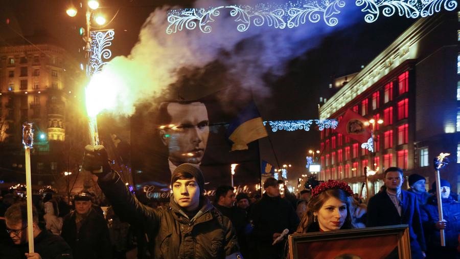 Ukrainian MPs want to make Nazi collaborator Bandera a national hero again