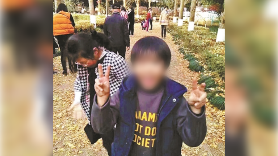 Chinese mum suspected of faking son's kidnapping to test