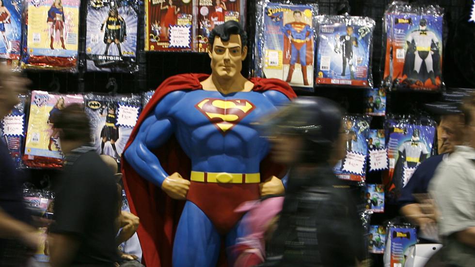 Superman comics showing victim of 'Russian puppet Assad' honors long tradition of propaganda
