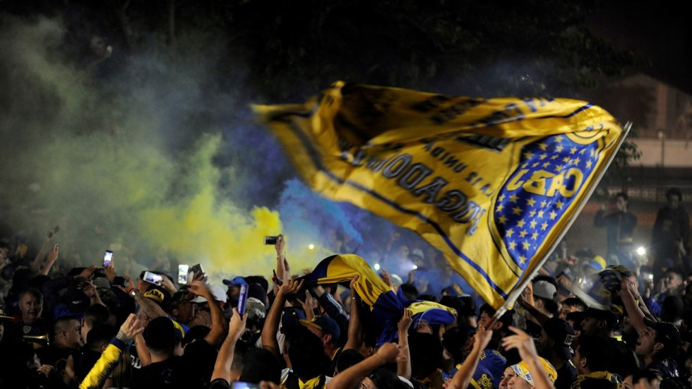 Boca Juniors land in Madrid amid tight security for Copa Libertadores clash
