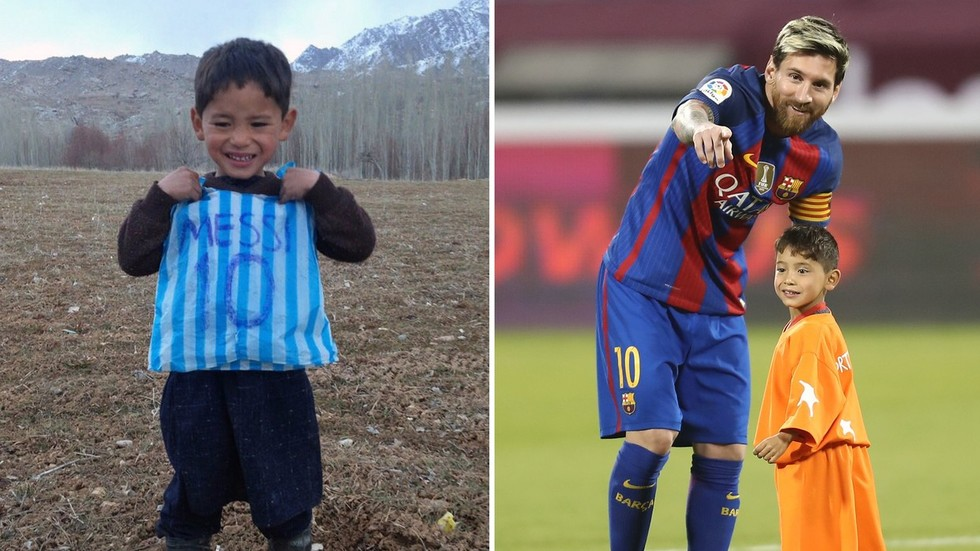 'They are hunting for him': Afghan 'Little Messi' forced to flee Taliban onslaught