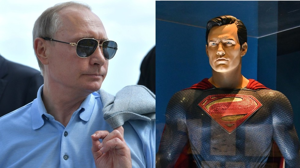 Putin v Superman? DC Comics features surprising guest