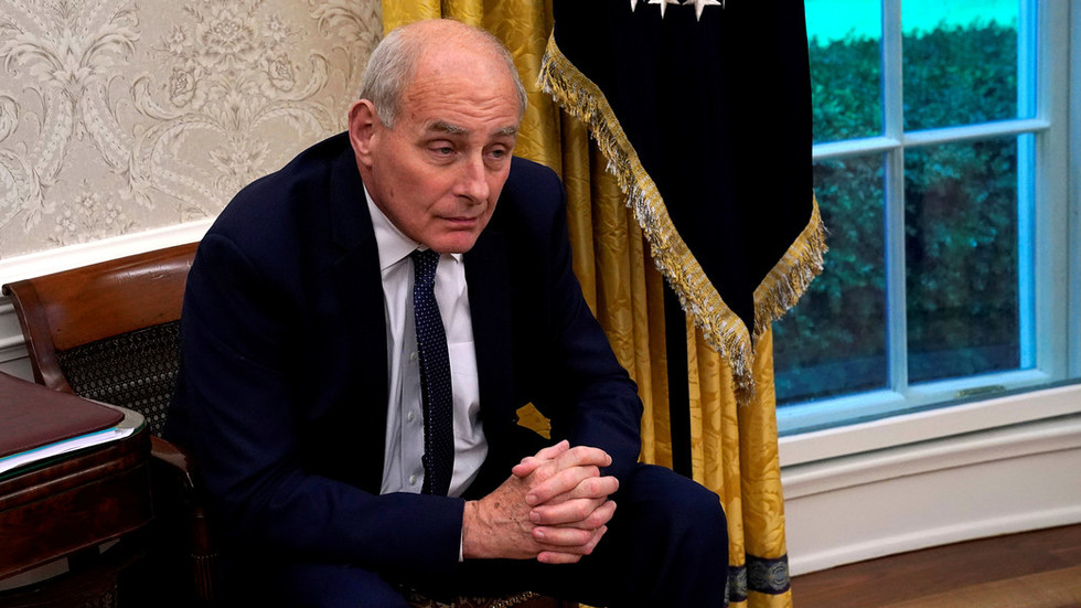 White House Chief of Staff John Kelly to resign - report