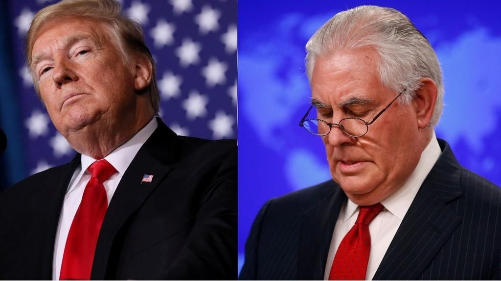 'Dumb as a rock' & 'lazy as hell': Trump destroys Rex Tillerson in tweet praising Pompeo