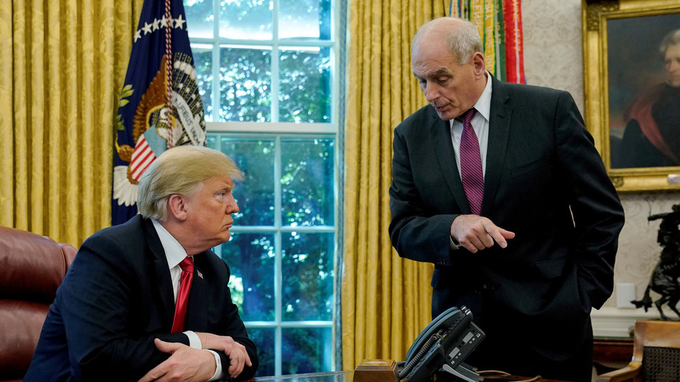 John Kelly to leave job as chief of staff by end of year - Trump
