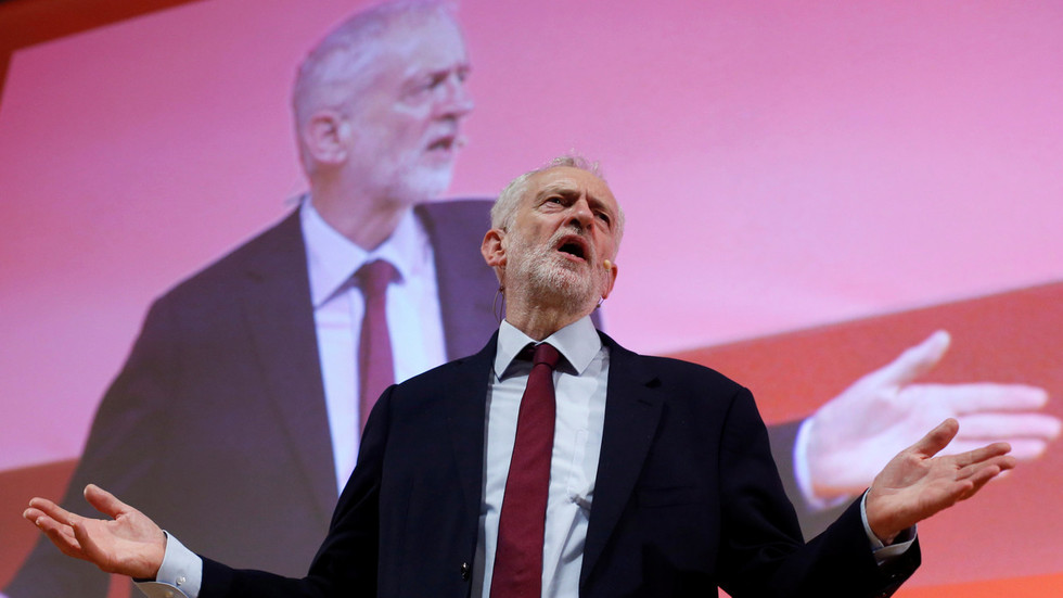 Labour leader Corbyn tells May: Make way for Labour