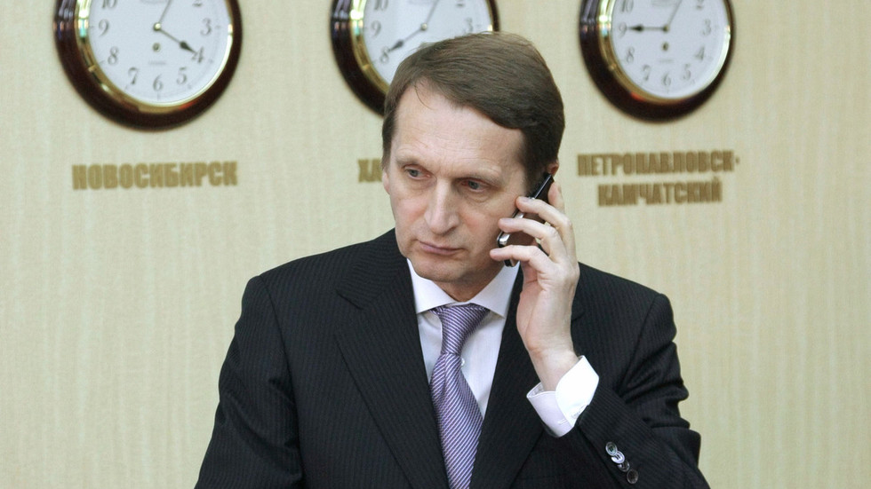 Mobile phones are insecure as 'walls have ears' but TV is OK, Russia intel chief says