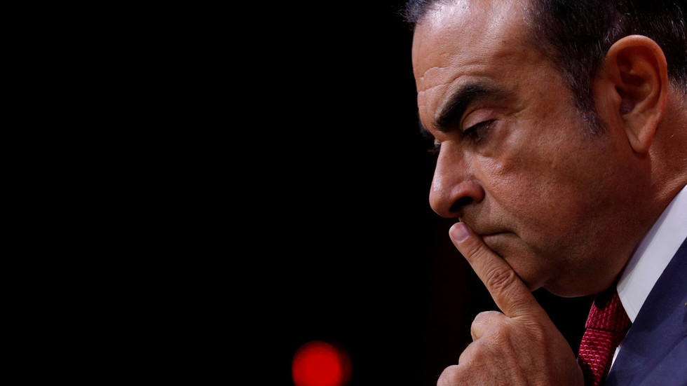 Ghosn formally charged for financial misconduct