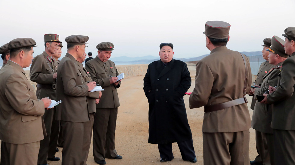 U.S. sanctions top Kim Jong Un aides over N.Korea rights
