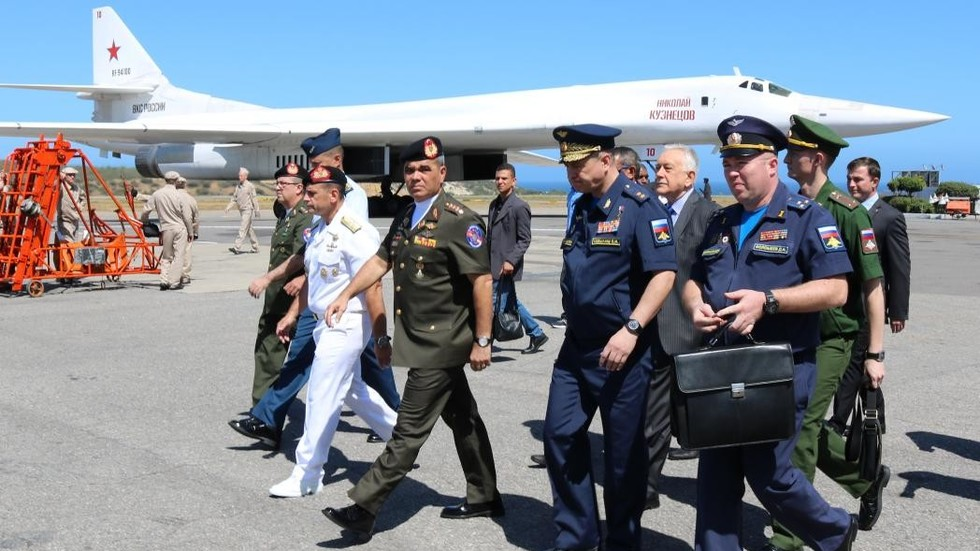 Russian nuclear-capable bomber aircraft fly to Venezuela, angering US