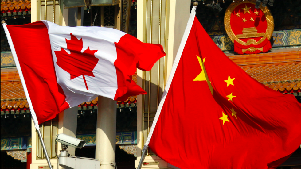 Former Canadian diplomat detained in China following Vancouver arrest of Huawei CFO - reports