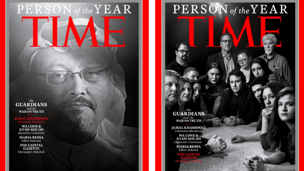 Guardians of the truth? Some of TIME's 'Person(s) of the Year' choices are perplexing