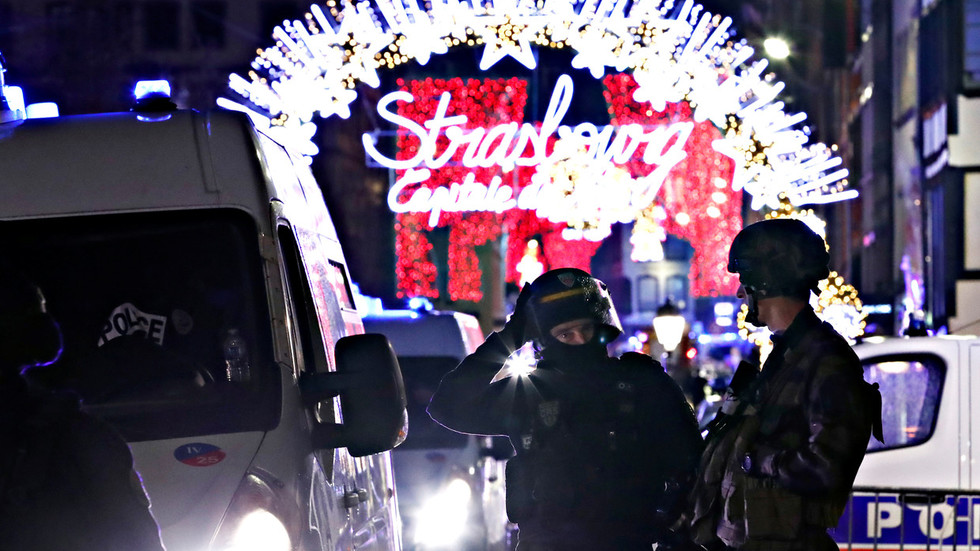 Gunman who attacked Christmas market in France yelled