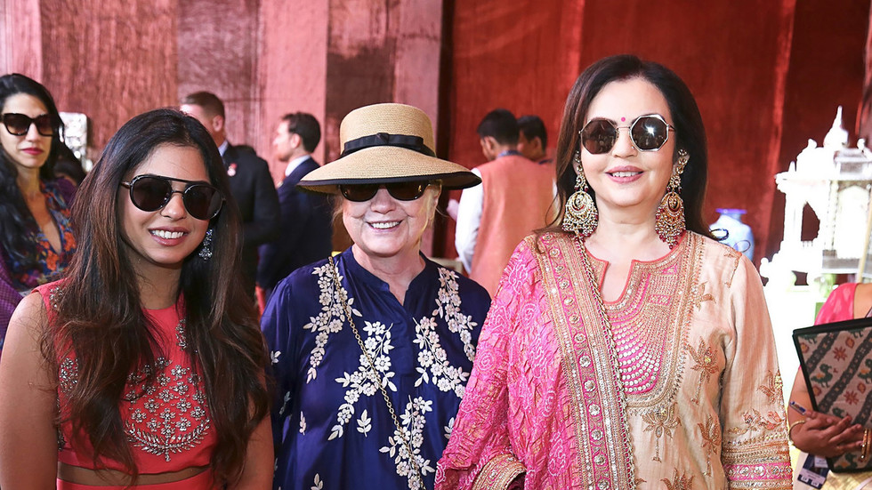 Don't miss these inside photos and videos from Isha Ambani's wedding